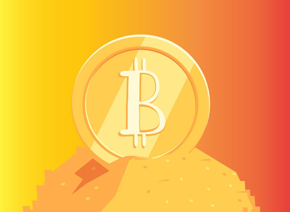 bitcoin van goud